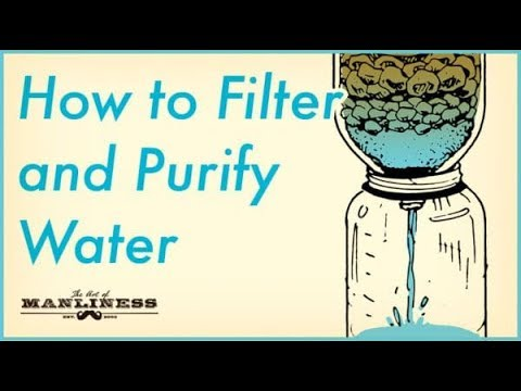 This Simplest Cheapest water Filter For under 20 bucks.