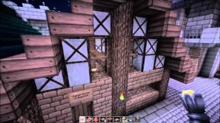 Minecraft Medieval City - Merchant District (Part 29)
