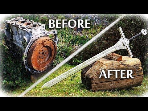 From Engine Block To Transformer Sword (Aluminum Casting)