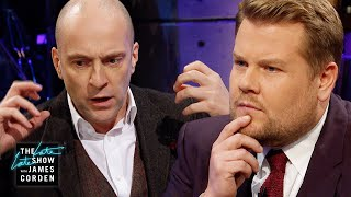 Derren Brown Blows James Corden's Mind Again