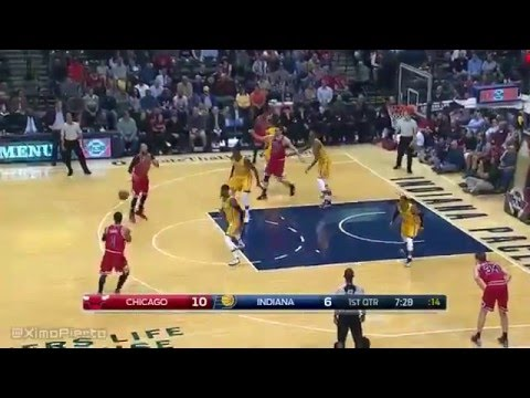 Chicago Bulls vs Indiana Pacers   Full Game Highlights   March 29, 2016   NBA 2015 16 Season