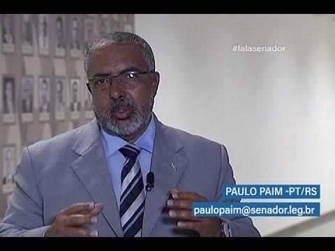 #falasenador: Paulo Paim comenta anteprojeto do Estatuto do Trabalho