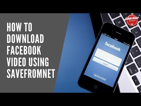 How To Download Facebook Video Using SaveFromNet