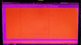 Красный экран монитора