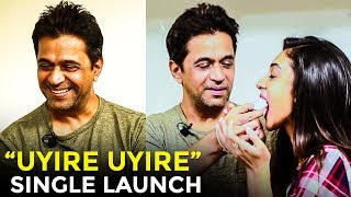 EXCLUSIVE: Uyire Uyire Single Launch | Solli Vidava | Arjun | Aishwarya | Madhan Karky