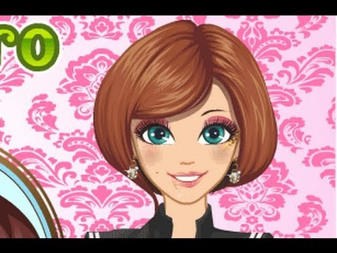 Simple Hairstyle Games Hair Games Girl Games Youtube