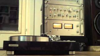 Pioneer vintage stereo sound system rack spec plc