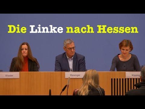 Katja Kipping, Bernd Riexinger, Janine Wissler (Die Linke) - BPK 29. Oktober 2018
