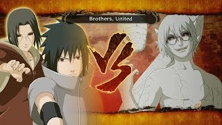 Naruto Shippuden: Ultimate Ninja Storm 3: FULL BURST - Sage Kabuto vs Sasuke & Itachi Boss Battle