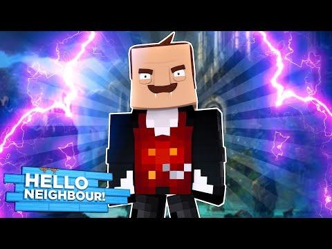 Minecraft - HELLO NEIGHBOUR TURNS INTO A VAMPIRE!