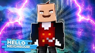 Minecraft - HELLO NEIGHBOUR TURNS INTO A VAMPIRE!