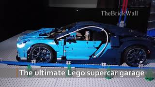 The supercar garage - Lego Technic