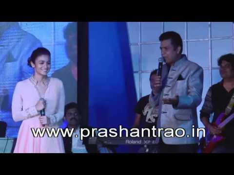 Prashant Rao with Alia bhatt