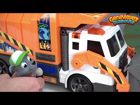 Surprise Toys in Paw Patrol Rocky's Recycling Truck!