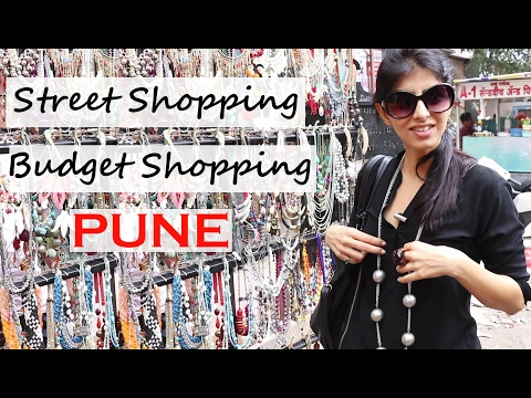 Street Shopping On A Tiny Budget : MG Road Street Shopping In Pune