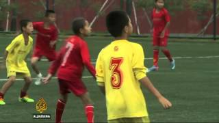 China football academy moulds star players