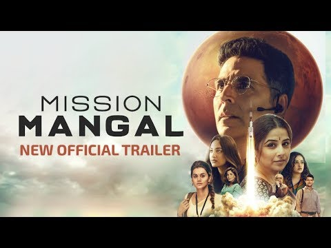 Mission Mangal | New Official Trailer | Akshay, Vidya, Sonakshi, Taapsee, Dir: Jagan Shakti |15 Aug