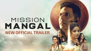 Mission Mangal | New Official Trailer 2 | Starring  Akshay, Vidya, Sonakshi, Taapsee