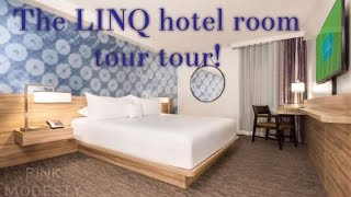 This video is about The Linq room tour (King Suite)
