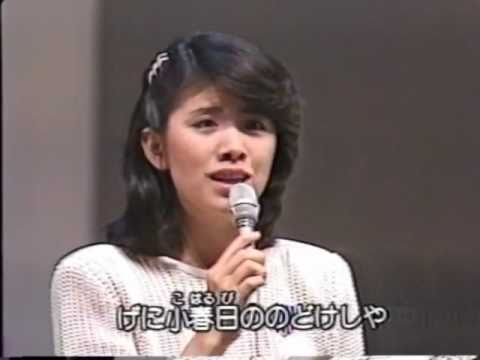 冬景色 森昌子 Huyugesiki  Masako Mori