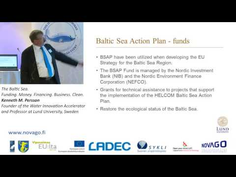 The Baltic Sea. Funding. Money. Financing. Business. Clean. Kenneth M. Persson