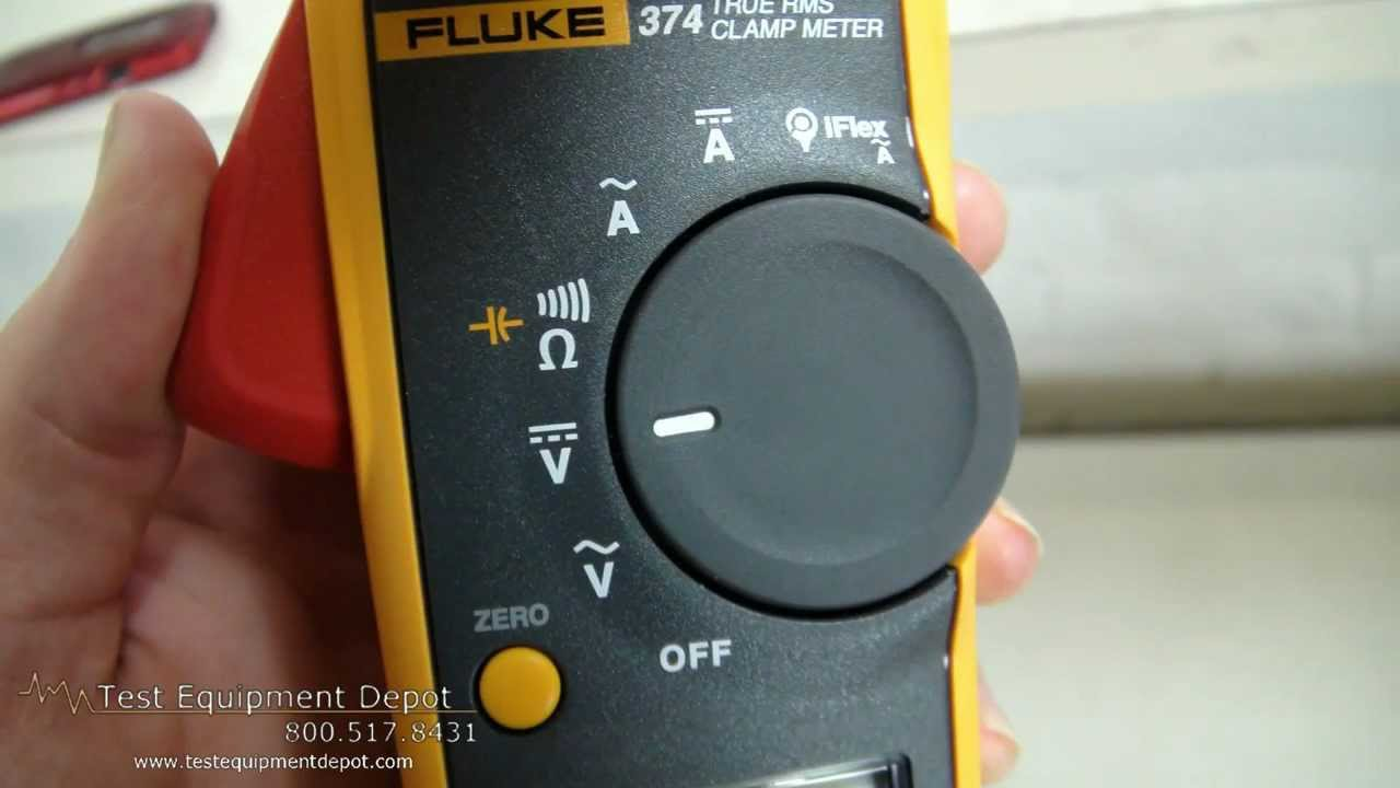 Fluke 374 600a600v true rms acdc clamp meter youtube buycottarizona Images