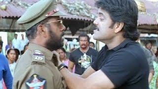 Shivamani Telugu Movie    Nagarajuna Giving Warning To His Subordinate  Acton Scene