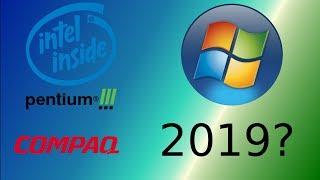 Using a Pentium III In 2019? Windows on a DeskPro EN