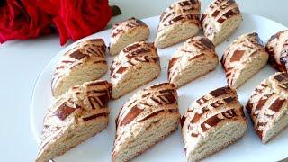 Вкуснейшее алжирское нарезное печенье Нежный вкус а рецепт проще простого
