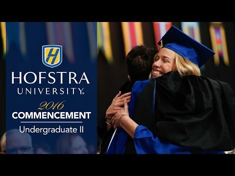 2016 Undergraduate Commencement II - Hofstra University