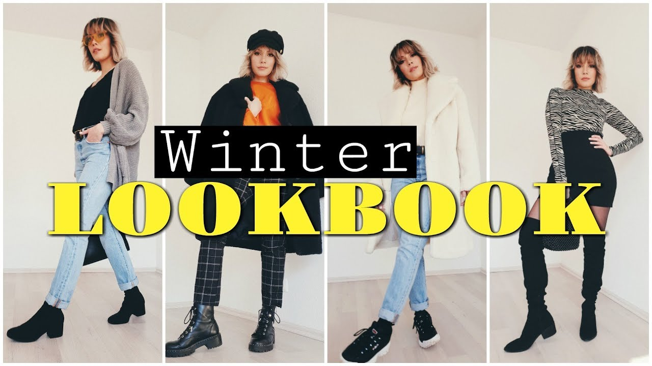 Winter Lookbook 2019 – 4 Outfits    funnypilgrim