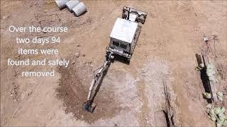 Explosive Ordnance Disposal in Siem Reap August 2017