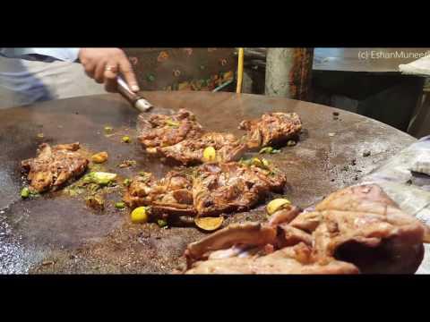 Chicken Tawa Piece | Amazing Skillet Fried Chicken | Lahore Street Food II