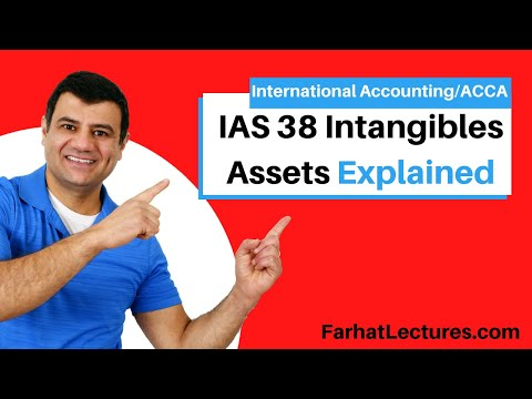 IAS 38 | Intangibles Assets | IFRS  Course | International Accounting Course