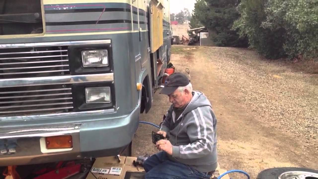 Motorhome Rv Brakes Youtube For A 1984 Chevy P30 Wiring Diagram
