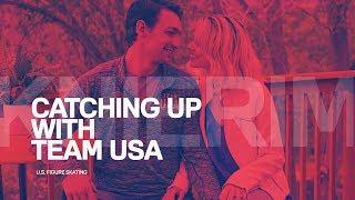 Alexa Scimeca Knierim & Chris Knierim | Catching Up With Team USA