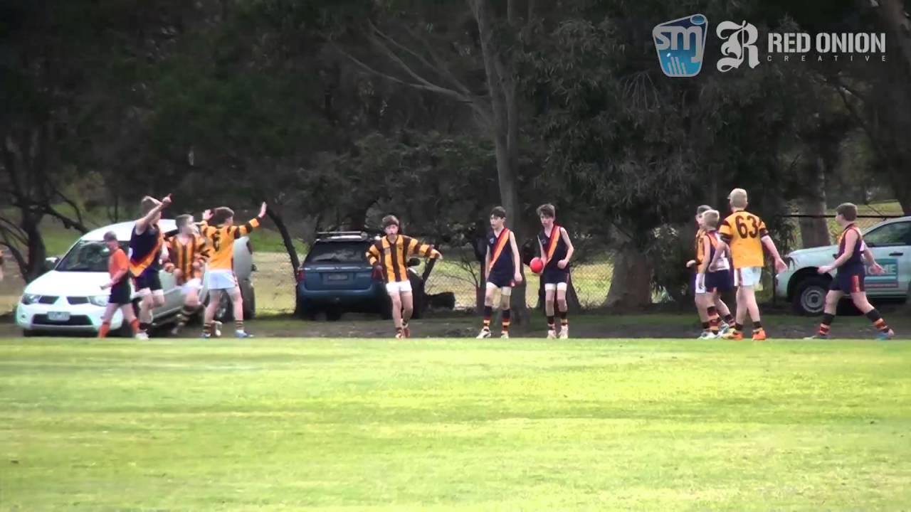 U11 South White St Bedes Mentone Tigers Red vs Waverley Park Hawks