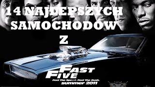 14 Najlepszych samochodów z Szybcy i Wściekli 5