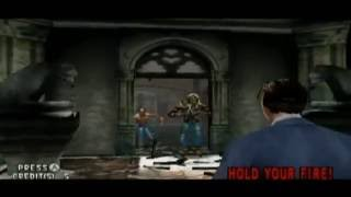 [Wii] House of the Dead 2 - Original Mode (Gary) Walkthrough [Very Hard] (Happy Halloween!)