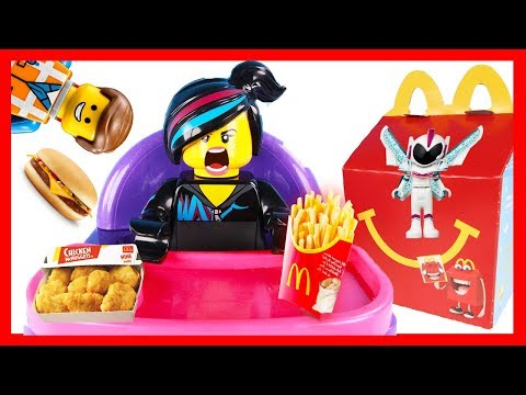 McDonalds Happy Meal for LEGO Movie 2 Wyldstyle