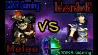Gambar cover Super Smash Bros Melee - SSKR Gaming VS TheAwesomeShow9821 (Pt-3)