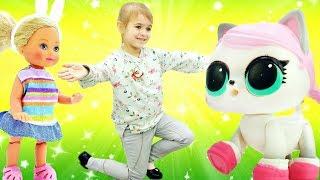 Видео про кукол Барби - Штеффи выбирает котёнка. Приключения Барби - Мультики для девочек