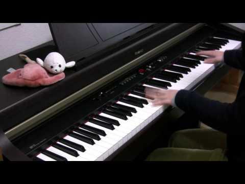 """【さかさふくろう】「ECHO」をピアノで弾いてみた / piano solo """"ECHO""""(Gumi, Crusher-P)"""
