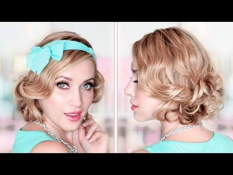 party/prom/wedding-updo-❤-curly-bob-medium/long-hair-tutorial-❤-how-to-fake-short-hair