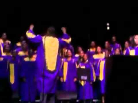 Secret Place (Kevin Davidson)- ECU Gospel Choir