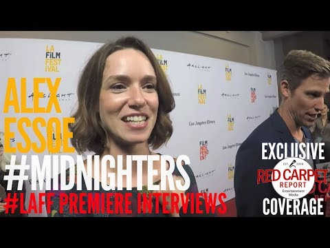 Alex Essoe ed at Premiere of Midnighters at Los Angeles Film Festival