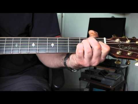 Play 'Drive In Saturday' By David Bowie. Guitar Chords. Part 1.