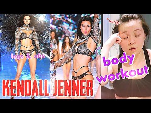 I Tried Kendall Jenner's Abs & Legs Workout Routine (Triggered My Vertigo) \\ JQLeeJQ