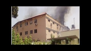 Kaduna Electoral Commission gutted by fire days to LG polls