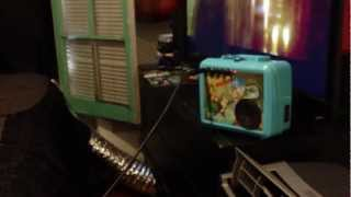 Custom Lunch Box Guitar amp Chip & Dales Rescue Rangers